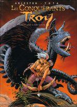 Couverture Exil à Port-Fleuri - Les Conquérants de Troy, tome 1