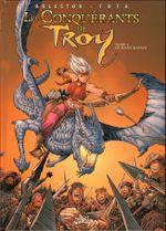 Couverture Le Mont Rapace - Les Conquérants de Troy, tome 4