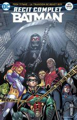 Couverture Teen Titans : La Trahison de Beast Boy - Récit complet Batman, tome 11