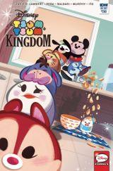 Couverture Disney Tsum Tsum Kingdom