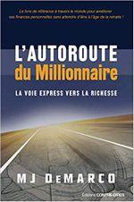 Couverture L'autoroute du millionnaire