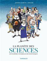 Couverture La Planète des sciences, tome 1