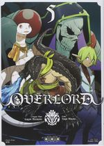 Couverture Overlord, tome 5
