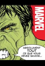 Couverture Marvel - Tout ce que vous devez savoir