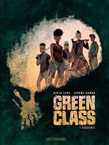 Couverture Pandémie - Green Class, tome 1