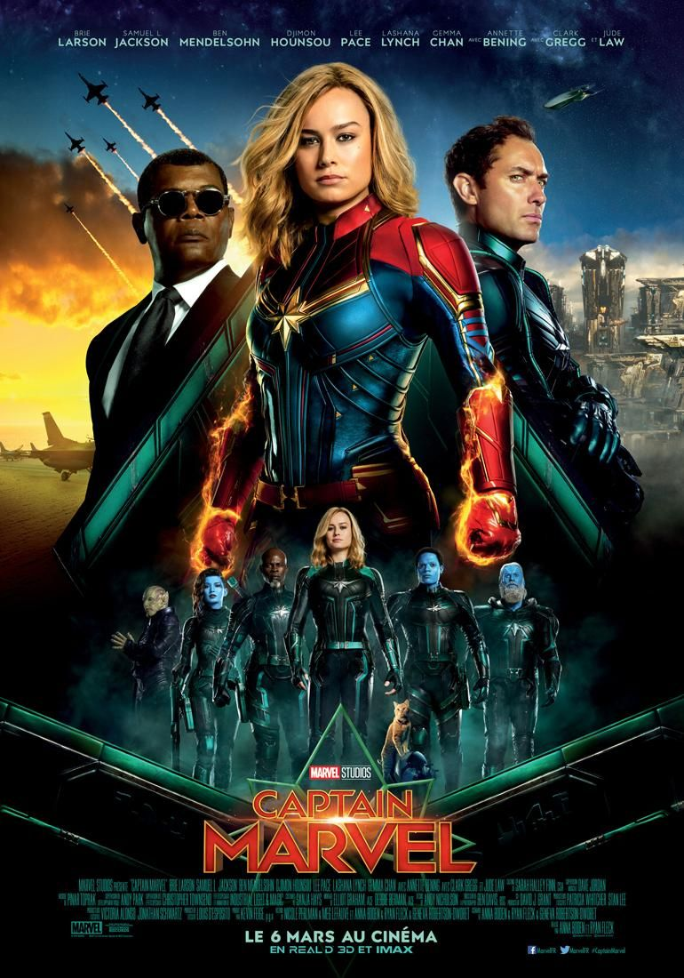 Captain Marvel Film 2019 Senscritique
