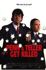 Affiche Penn & Teller Get Killed