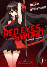 Couverture Red Eyes Sword : Akame ga Kill !