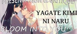 Vidéo Critique Bloom Into You