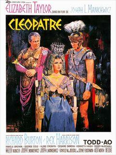 Affiche Cléopâtre
