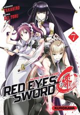 Couverture Red Eyes Sword : Akame ga Kill ! Zero, tome 7