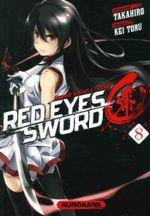 Couverture Red Eyes Sword : Akame ga Kill ! Zero, tome 8