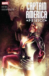 Couverture Captain America: Patriot