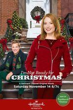 Affiche Je ne suis pas prête pour Noël