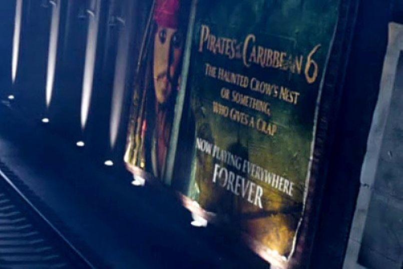 Illustration On joue Pirates des Caraïbes 6 éternellement dans the bad place