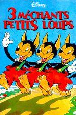 Affiche Les Trois Petits Loups