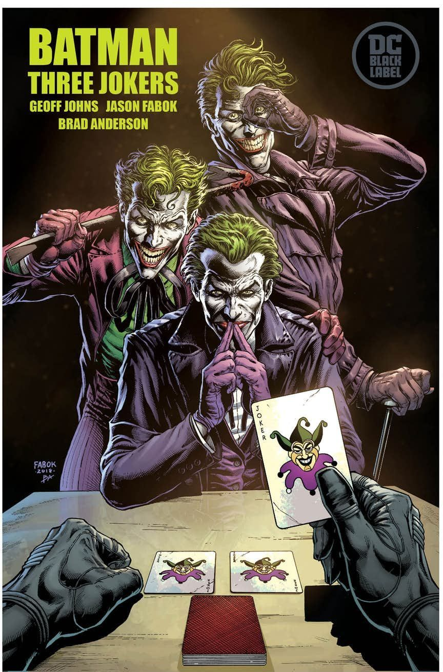 Batman: Three Jokers - Jason Fabok et Geoff Johns - SensCritique