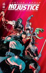 Couverture Justice League : No Justice