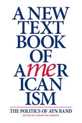 Couverture A New Textbook of Americanism