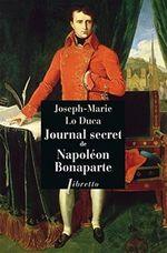 Couverture Journal Secret de Napoléon Bonaparte