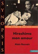 Couverture Hiroshima mon amour