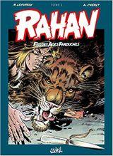 Couverture L'intégrale - Rahan, tome 1