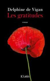 Couverture Les gratitudes