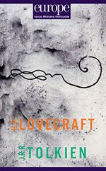 Couverture H.P. Lovecraft / J.R.R. Tolkien