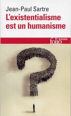 Couverture L'existentialisme est un humanisme