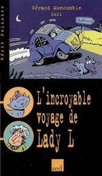 Couverture L'Incroyable Voyage de Lady L.