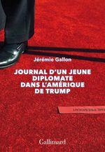 Couverture Journal d'un jeune diplomate dans l'Amérique de Trump