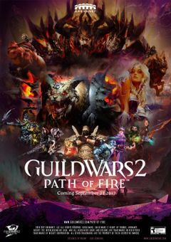 Jaquette Guild Wars 2: Path of Fire