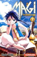 Couverture Magi : The Labyrinth of Magic