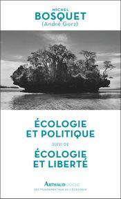 Couverture Ecologie et politique