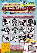 Couverture The Unofficial Game & Watch Collector's Guide