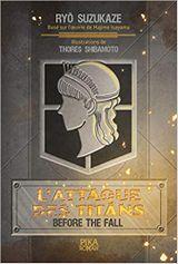 Couverture L'Attaque des Titans - Before the Fall