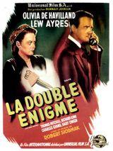 Affiche La Double Énigme