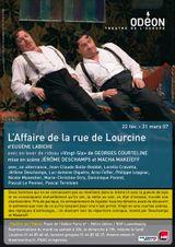 Affiche L'Affaire de la rue de Lourcine