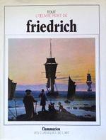 Couverture Tout l'œuvre peint de Friedrich
