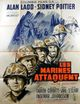 Affiche Les marines attaquent