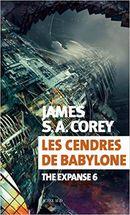 Couverture Les Cendres de Babylone - The Expanse, tome 6