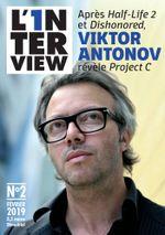 Couverture L'1nterview n°2 - Viktor Antonov