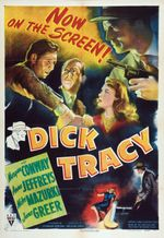 Affiche Dick Tracy, détective