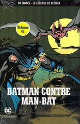 Couverture Batman contre Man-Bat - DC Comics - La légende de Batman tome 41