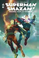 Couverture Superman / Shazam - Premiers coups de Tonnerre