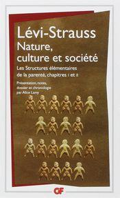 Couverture Nature, culture et société