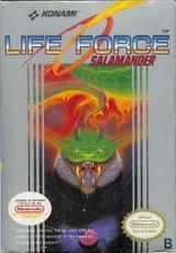 Jaquette Life Force : Salamander
