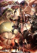 Affiche L'Attaque des Titans 3 - Partie 2