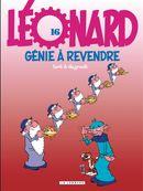 Couverture Génie à revendre - Léonard, tome 16