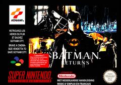Jaquette Batman Returns
